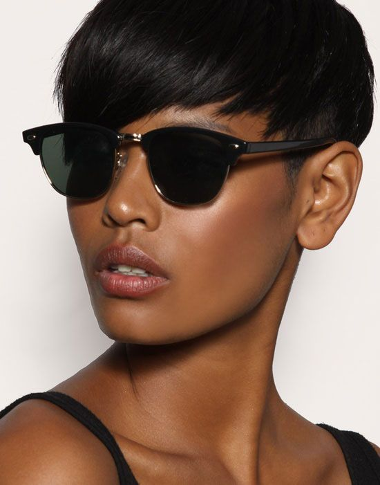 Colorful Short Hairstyles For Black Women U2013 Natural Hairstyles. Cool ...