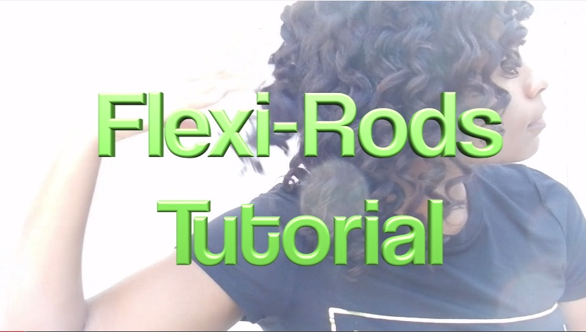 flexi rods on natural hair Flexi Rod Tutorial on Transitioning or Flexi Rods on Relaxed Hair