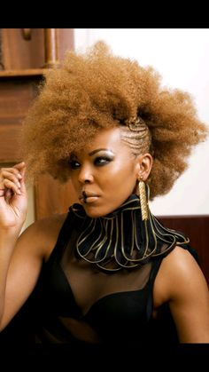 25 Colored Natural Hair Styles - Dyed Natural Hair Photo Gallery