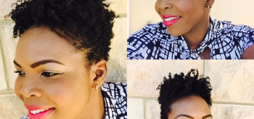 Twistout With TGIN Hair Products on TWA - Natural Hair [VIDEO]