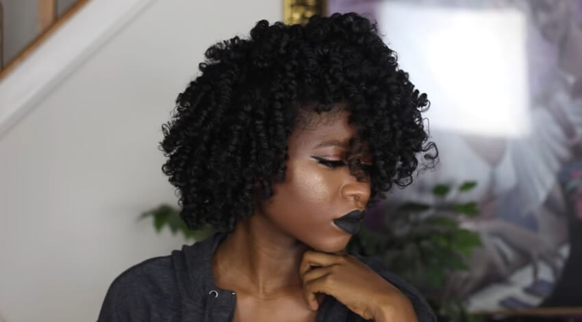 The Perfect Perm Rod Set For Thick Type 4 Hair Blackhairomg