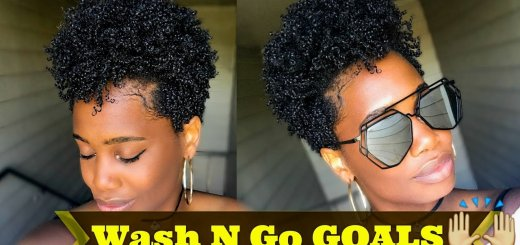 Revive 2-Week Old Wash-and-Go Natural Hair Curls in 7 Minutes!